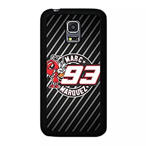 Samsung Galaxy S5 Mini Case Cover Shell Classical Funny Stripes Motogp 93 Marc Marquez Phone Case Cover Motorcycle Fashionable