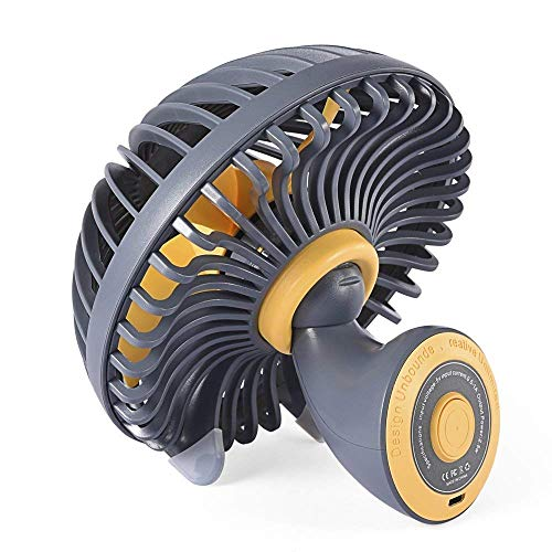 (Mini Desk Fan, Portable USB Fan Office&Desktop, Small Personal Cooling Fan,5.8 Inch Innovative Mushroom Design Table Desktop Fan Quiet Electric Fan Office Home Tabletop Fan (Table)