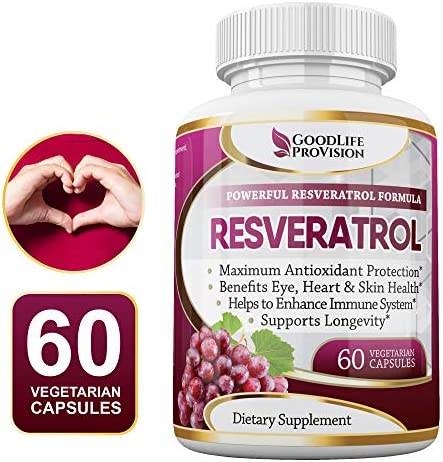 100 Pure Resveratrol Proprietary Antioxidant product image