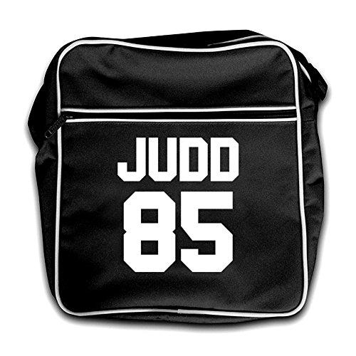 Bolsa 85 rojo Judd Retro Negro Vuelo SdTwXF
