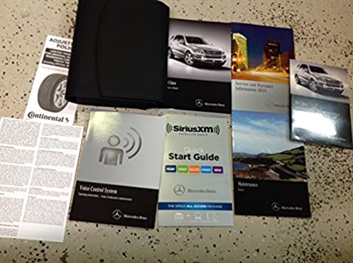 2015 mercedes benz ml350 ml63 ml550 owners manual set kit w case rh amazon com 2012 ml350 owners manual 2012 ml350 owners manual