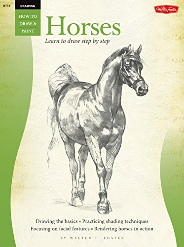 Drawing: Horses (HT11) (Book Walter Foster)