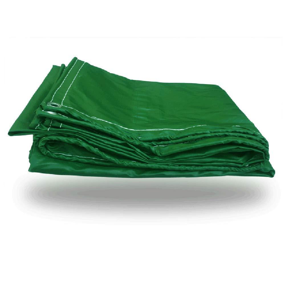 Tarpaulin LVZAIXI Regenfestes Tuch Wasserdichte Sonnencreme Sonnenschutzplane PVC Tuch 460g   m2 (größe   4  4m)