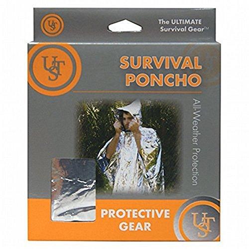 Survival Gear Poncho w/ Bonus of 3 Printable Survival Guides