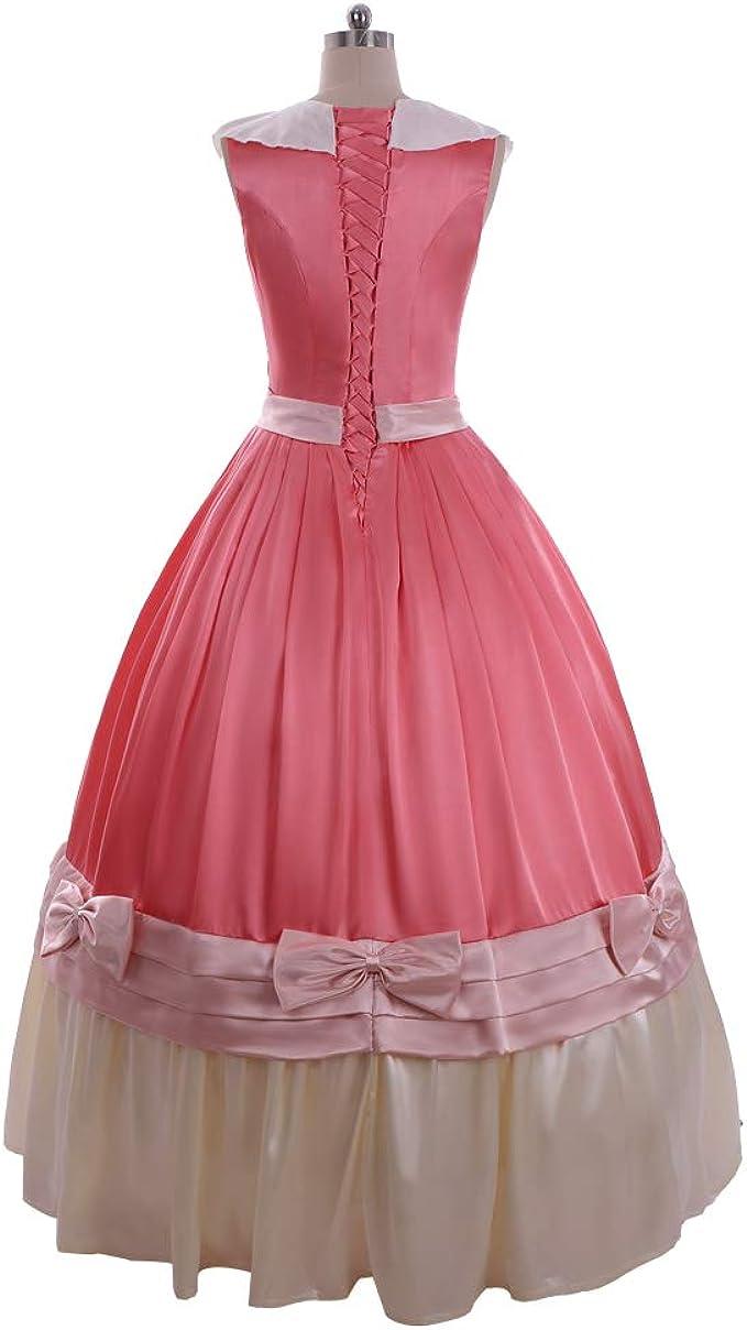 Cinderella Shrek Princess Pink Gown Fancy Dress Up Halloween Child Costume