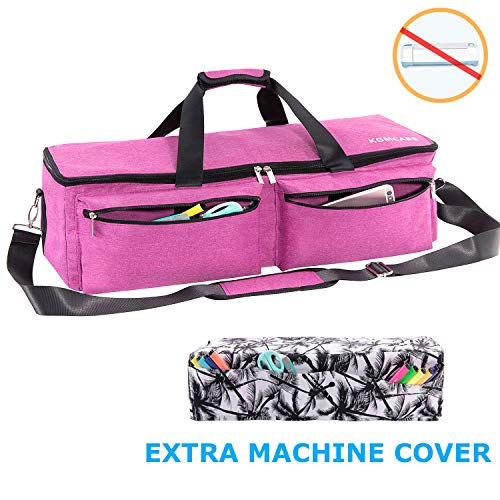 KGMcare Carrying Bag Compatible with Cricut Explore Air and Maker, Waterproof Tote Bag Compatible with Cricut Explore Air and Supplies- (Pink)