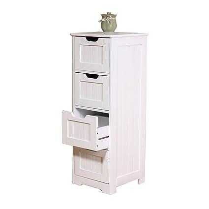 Amazoncom Cabinets Bathroom Four Tier Locker Living Room Storage