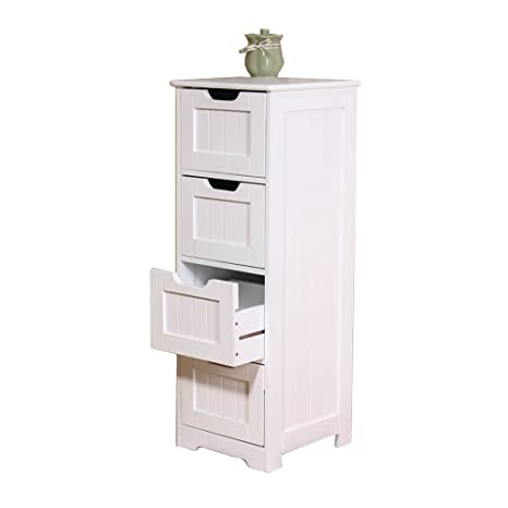 Amazon.com: Cabinets Bathroom four-tier locker living room ...