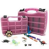 The Original Pink Box PB2PSC Portable Storage Case