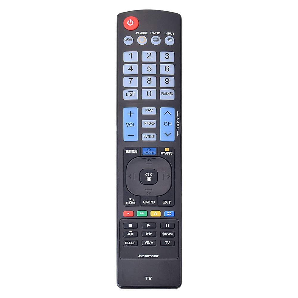 Control Remoto LG AKB73756567 LG LCD LED HDTV Smart TV