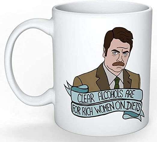 Ron Swanson Taza (Leslie Knope Parks and Rec Treat yo Self ...