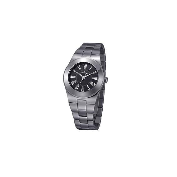 Time Force TF4003L03M - Reloj con correa de acero para mujer, color plateado/gris: Amazon.es: Relojes