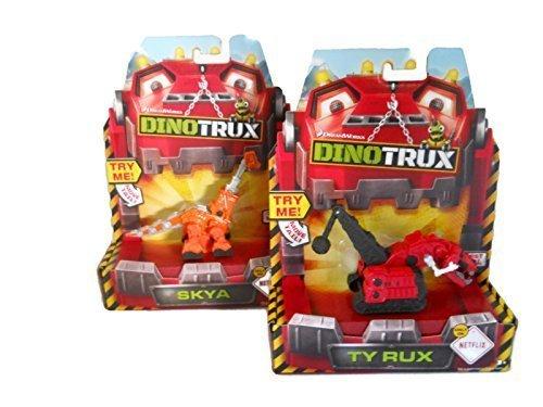 Dinotrux Skya and Ty Rux Die Cast Vehicles