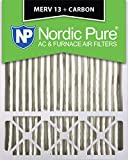 Nordic Pure 20x25x5 (4-3/8 Actual Depth) Lennox X6675 Replacement MERV 13 Plus Carbon AC Furnace Air Filter, Box of 1 Review