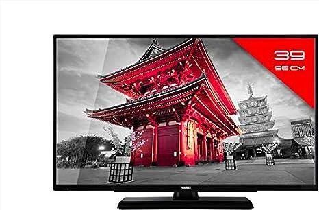 Nikkei 39F4001S - Televisor LED (39 Pulgadas, Full HD, DVB T2, Smart TV, Internet TV, WiFi): Amazon.es: Electrónica