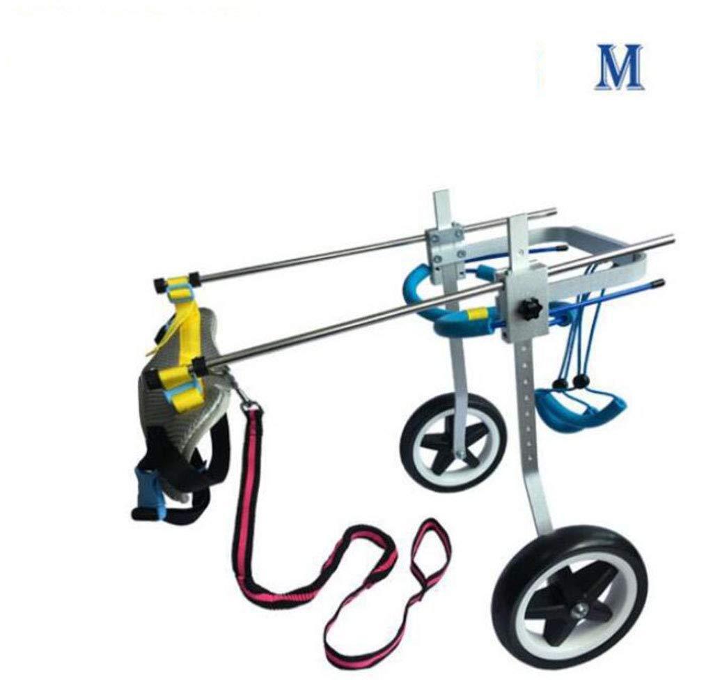 Medium DABUOT Pet Dog Wheelchair Disabled Dog Wheelchair Pet Moped,M