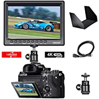 Neewer F100 7-inch 1280x800 IPS Screen Camera Field...