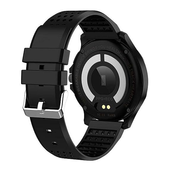 Beisoug W8 Reloj Inteligente Pantalla a Color ECG y PPG IP67 ...