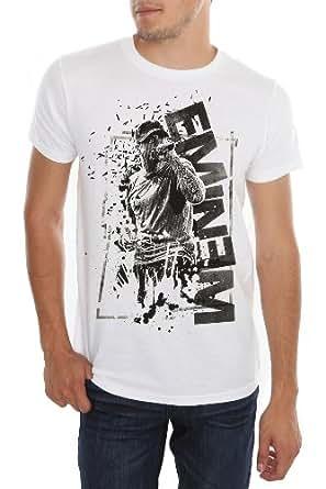 Eminem Black Ink T-Shirt 4XL Size : XXXX-Large