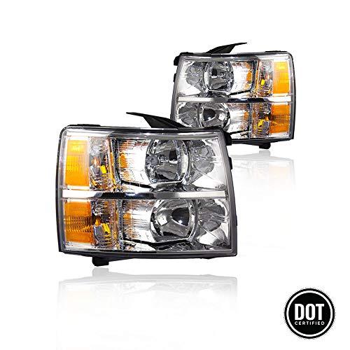 09 silverado headlight assembly - 9