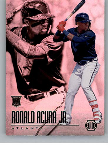 2018 Panini Chronicles Illusions #14 Ronald Acuna Jr Atlanta Braves RC Rookie Card