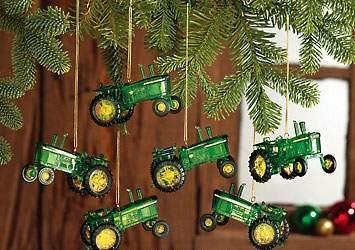 John Deere Tractor Special Edition Christmas Tree Ornaments 6 ...