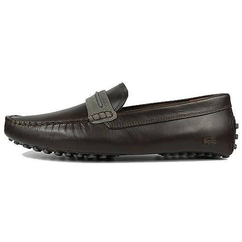 Lacoste - Botas estilo motero hombre , color marrón, talla 41 EU: Amazon.es: Zapatos y complementos