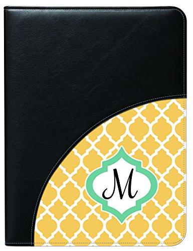 - Snaptotes Office Professional Executive Padfolio Including Legal Size Notepad Monogram Design