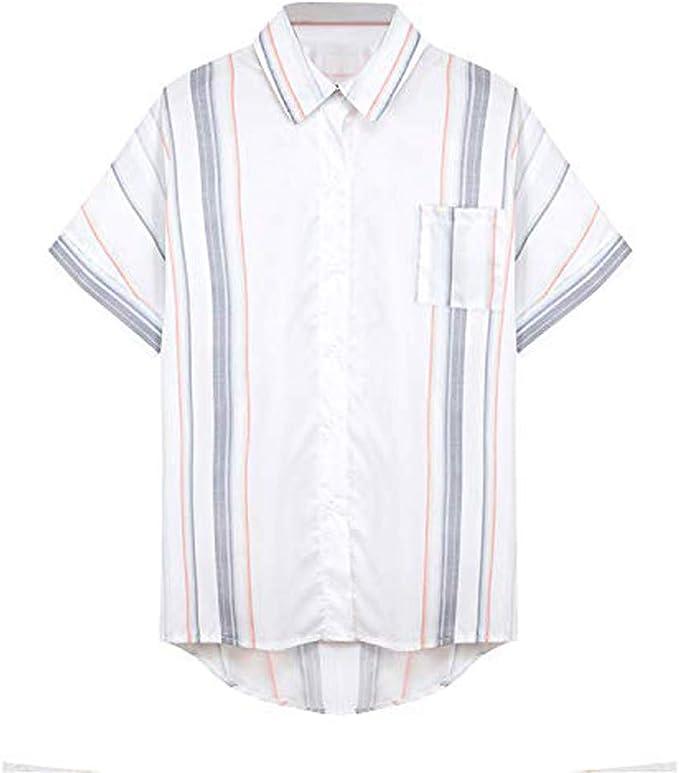VEMOW Camiseta Pullover Sudadera Mujer A Rayas Cuello en V ...