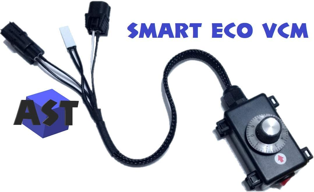AST Smart ECO VCM Spark Plug Saver, Muzzler, Controller, Compatible with: Honda Odyssey [2007-2019] Accord [2008-2019] Pilot [2009-2019] Acura RLX,MDX [2014-2019] RDX [2013-2019] MDX [2014-2019] DC1