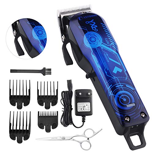 Cool Tech Design on this Professional Hair Clippers Set