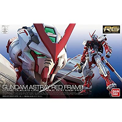 Bandai Hobby 1/144 RG Gundam Astray Red Frame Action Figure: Toys & Games