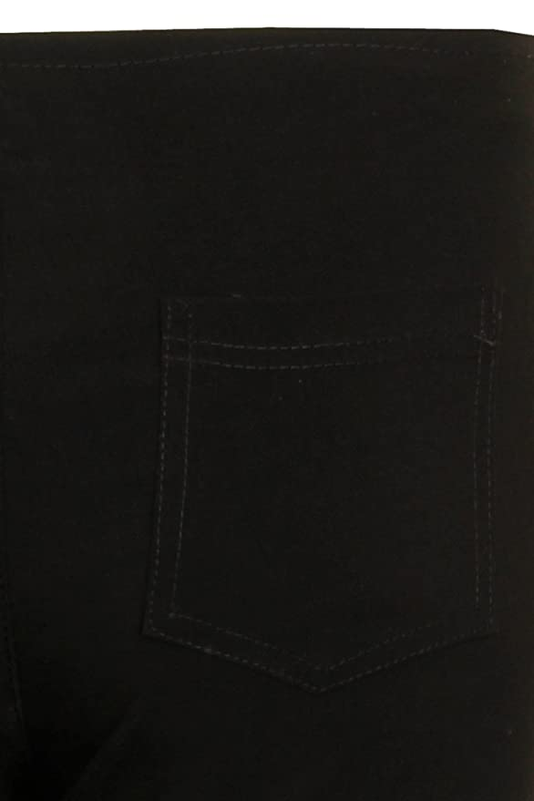 Miss Sexies New Branded Girls Black/Grey School Trousers Available In 6 8  10 12 14 Sizes Short Regular Long: Amazon.co.uk: Clothing