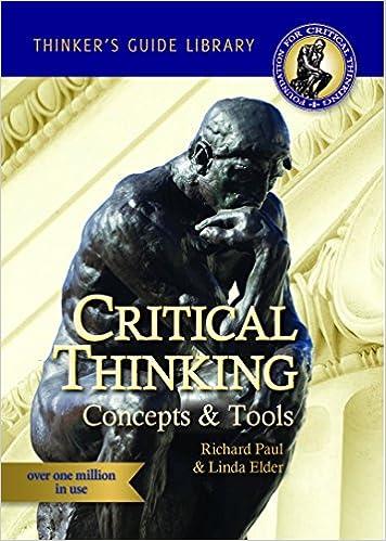 Миниатюрное руководство по концепциям и инструментам критического мышления