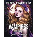 Vampires: An Adult Coloring Book with Fun, Beautiful, and Relaxing Coloring Pages