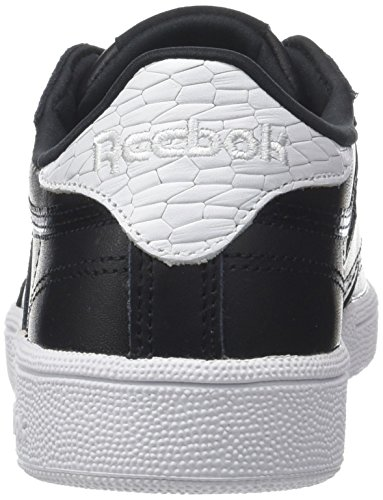 sale low shipping Reebok Women's Club C 85 Emboss Trainers Black (Black/White 0) 2014 newest online very cheap GU3vd