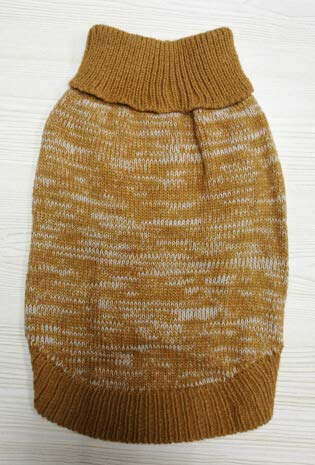 Coffee M Coffee M Party Pet Costume Pet Supplies Misc New Puppy Sweater pet Sweater pet Dog Clothing Winter Models pet Clothes (color   Coffee, Size   M) Pet Uniform (color   Coffee, Size   M)