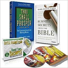Income Abundance Set: Rabbi Daniel Lapin: 0695677030025: Amazon.com: Books