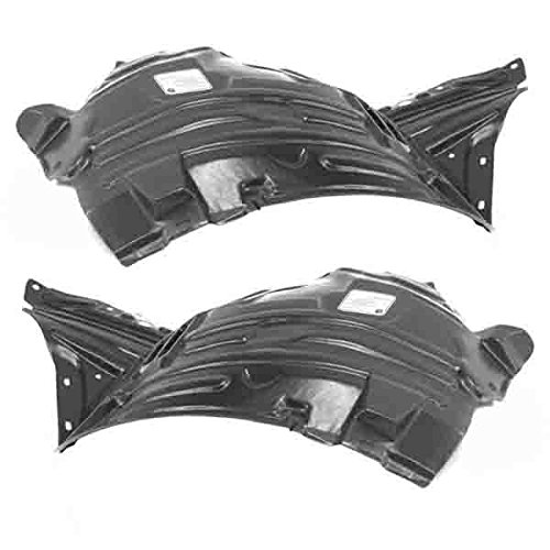 Koolzap For 03-05 350Z Front Splash Shield Inner Fender Liner Panel Left Right PAIR SET ()