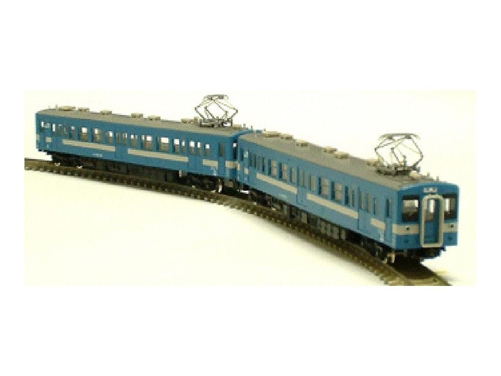 J.R. Series 119-100 119-100 119-100 Iida Line Colour (Light Blau), cMc Two Car Formation Set (with Motor) (Model Train) 88f8db