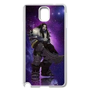samsung_galaxy_note3 phone case White Kargath Bladefist World of Warcraft WOW OOR1460199