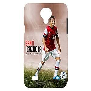 3D Case Santi Cazorla Arsenal Football Club Player Plastic Phone Case for Samsung Galaxy S4 Mini
