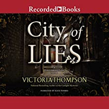 City of Lies Audiobook by Victoria Thompson Narrated by Kate Forbes