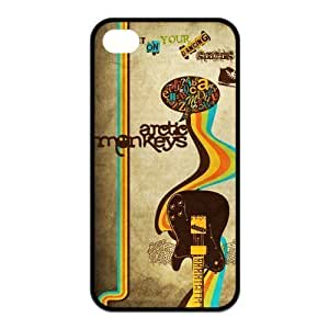 4S ,Hard For SamSung Note 2 Case Cover Arctic Monkeys Fashion Pattern Hard Back Snap on For SamSung Note 2 Case Cover (Black/white)