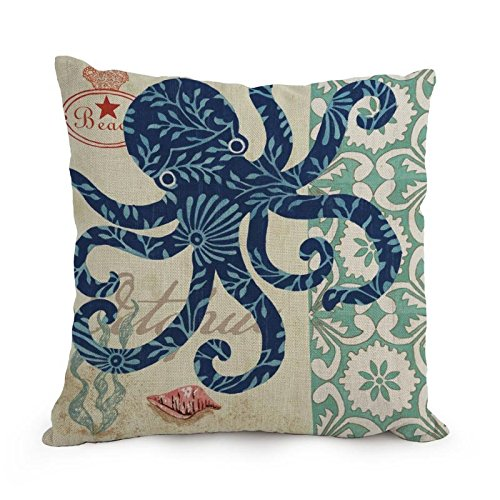 The Ocean Cushion Covers Of ,18 X 18 Inches / 45 By 45 Cm Decoration,gift For Couch,indoor,wife,bar Seat,adults,coffee House (twin - London Brow Bar