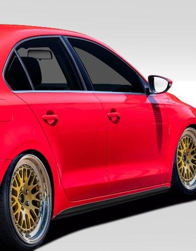 Duraflex ED-OKG-839 GLI Look Side Skirt Rocker Panels - 2 Piece Body Kit - Fits Volkswagen Jetta 2011-2014