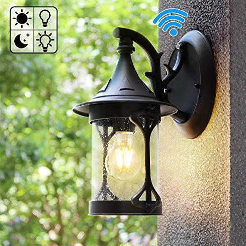 Best outdoor lighting fixtures wall mount black for 2020