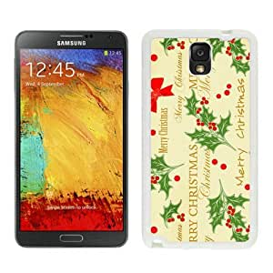 Recommend Design Merry Christmas White Samsung Galaxy Note 3 Case 29