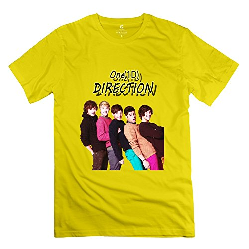 Vintage One Music1D Tee Create My Own For Men Yellow
