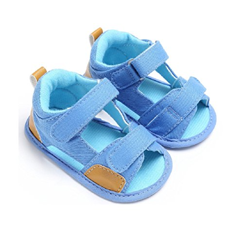 Baby Steps Anchor Baby Boy Shoes (Blue) - 8